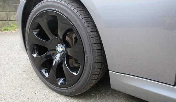 BMWホイール塗装 グロスブラックへのカラーチェンジ (東京都世田谷区 S様)